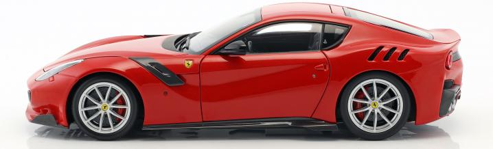 Diecast-Premiere auch bei BBR: Ferrari F12 tdf in 1:18
