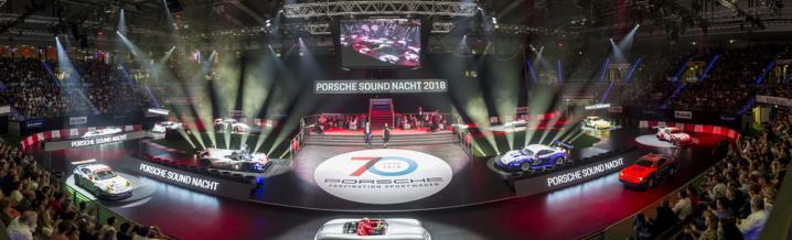 Impressionen von der Porsche Sound Nacht Nr. 8