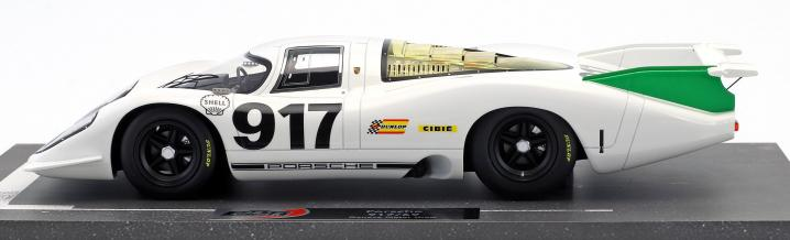 With BBR back to the beginning: Four new Porsche 917 in 1:18