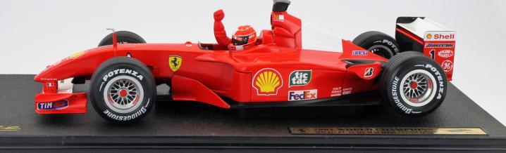 Schumacher exhibition on January 3, 2019 new in Maranello