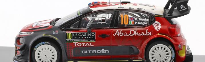 Citroën gewinnt die 87. Rallye Monte Carlo