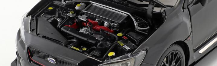 Sunstar und der Subaru S207 im Format 1:18