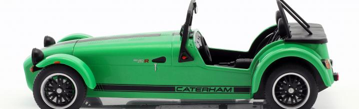 Caterham Seven 275 R: Race car for the street new from Solido
