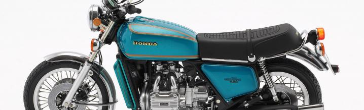 Travel coupe on two wheels: The Honda Gold Wing GL 1000