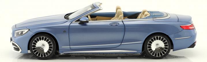 Noblesse für die Vitrine: Mercedes-Maybach Cabriolet von Norev