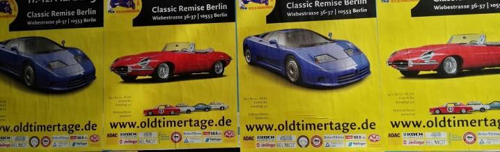 Oldtimertage Berlin Brandenburg in der Classic Remise Berlin