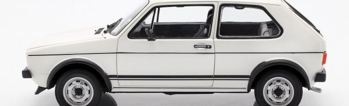 Unforgotten superhero: VW Golf GTI 1976 in scale 1:18