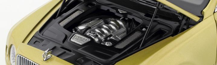 Maximum luxury in diecast: The Bentley Mulsanne Speed 2017