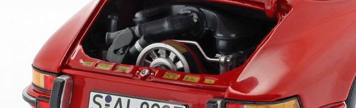Porsche 911 S 1973: Schuco brings die cast-911 in 1:18