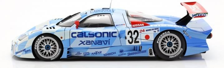 Top class, just great: Nissan R390 GT1 in 1:18