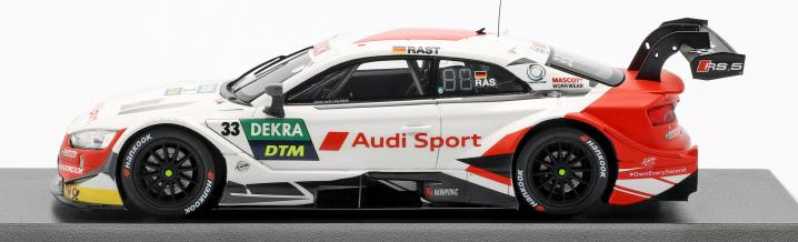 The car of the champion: René Rast and the Audi RS 5 DTM