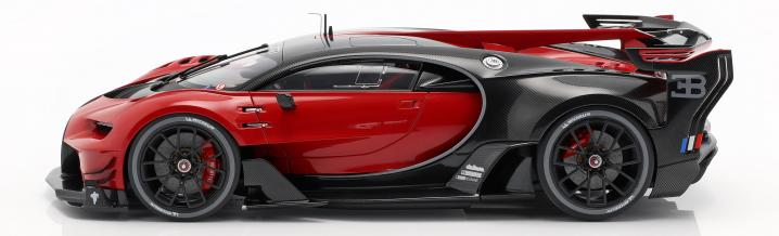 Fast foreplay: Bugatti Vision GT in scale 1:18