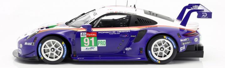 Neues Großmodell: Porsche 911 RSR GTE Le Mans 2018