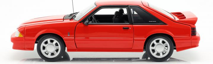 Kleine Pferdelehre: Ford Mustang 1993 von GMP