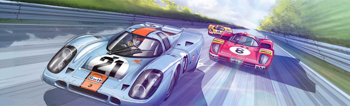 "Comics now available: ""And Steve McQueen created Le Mans"""