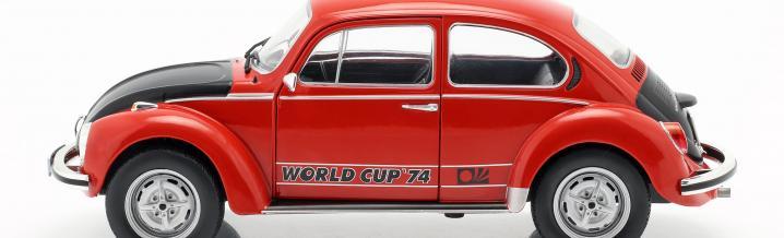 Der Ball ist rund, der Käfer auch: VW 1303 von Solido