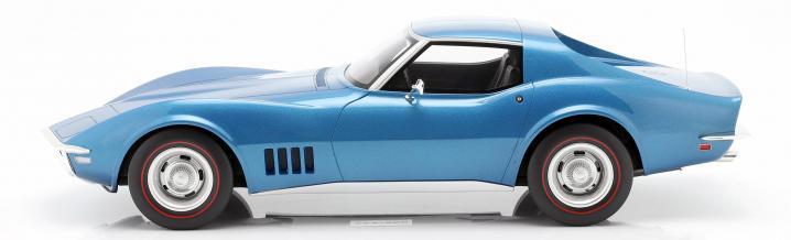 Large model by GT-Spirit: Chevrolet Corvette C3 1968
