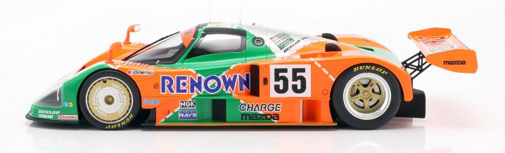 Great moment of the Wankel engine: Mazda 787B wins Le Mans 1991