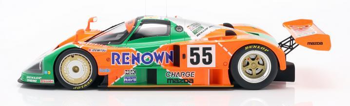 Sternstunde des Wankelmotors: Mazda 787B gewinnt Le Mans 1991