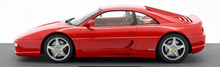 Again large scale: The Ferrari F255 from TopMarques