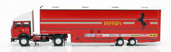 Looking back at 1981: Racing transporter of the Scuderia Ferrari