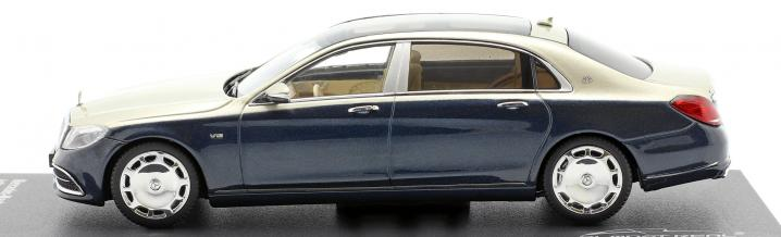 Luxurious into the weekend: Mercedes-Maybach S-Class in 1:43