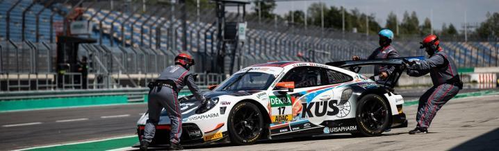 KÜS Team75 Bernhard: Season start on the Lausitzring