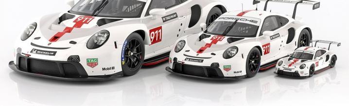 Three new Porsche 911 RSR model year 2019