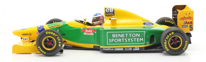 Minichamps-novelties: Formula 1 in scale 1:43 and 1:18