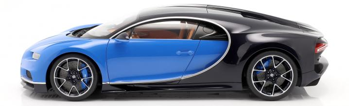 News from Autoart: Novelties, crowned by a Bugatti