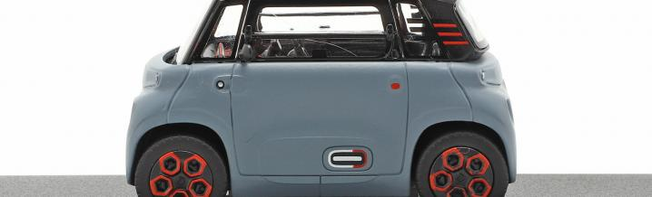 Electric cars as model: The Citroën Ami 2021 from Norev