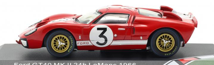 Ford GT40 1966 is model vehicle of the year 2020