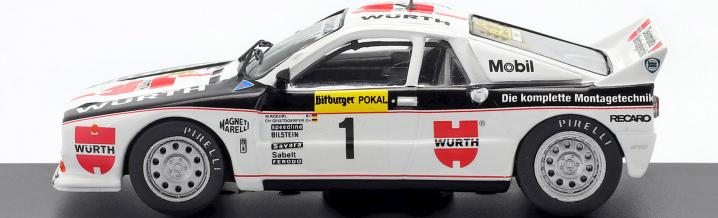 Traumpaar im Cockpit: Erfolge aus dem Rallye-Sport in 1:43