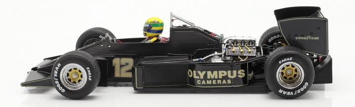 Great modelcars I: Ayrton Senna and the Lotus 97T