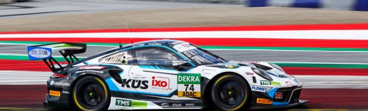 KÜS Team Bernhard disappointed from the ADAC GT Masters weekend at the Red Bull Ring