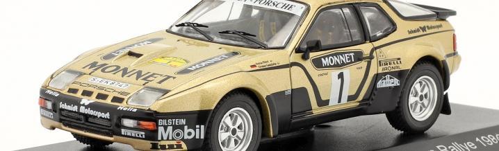 Als Deutschlands bekanntester Rallyefahrer, in seiner einzigen Saison auf Porsche, die Hessenrallye gewann