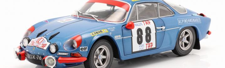 Eine Französische Legende mit echten Rennsport- und Rallyegenen, die wahrscheinlich schon immer in blau am besten aussah