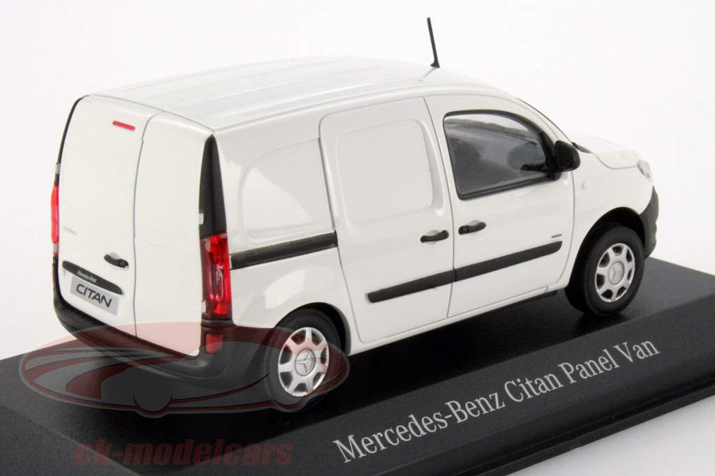 Mercedes-Benz Citan panel van arktik white 1:43 Minichamps