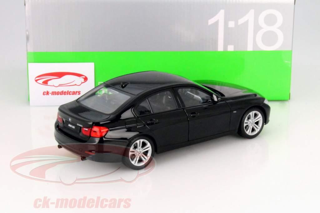 ... BMW 335i (F30) Year 2010 Black 1:18 Welly ...