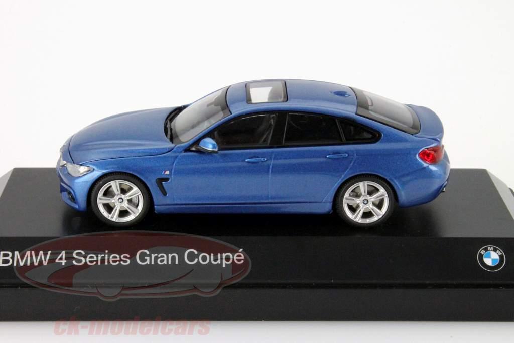 ck modelcars 80422348792 bmw 4er 4 series f36 gran coupe blauw 1 43 kyosho ean 80422348792. Black Bedroom Furniture Sets. Home Design Ideas