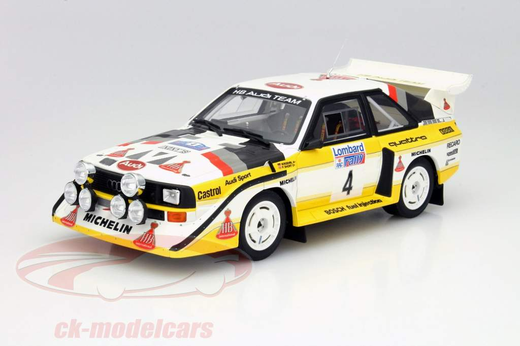 audi sport quattro s1 by ottomobile in scale 1 18. Black Bedroom Furniture Sets. Home Design Ideas