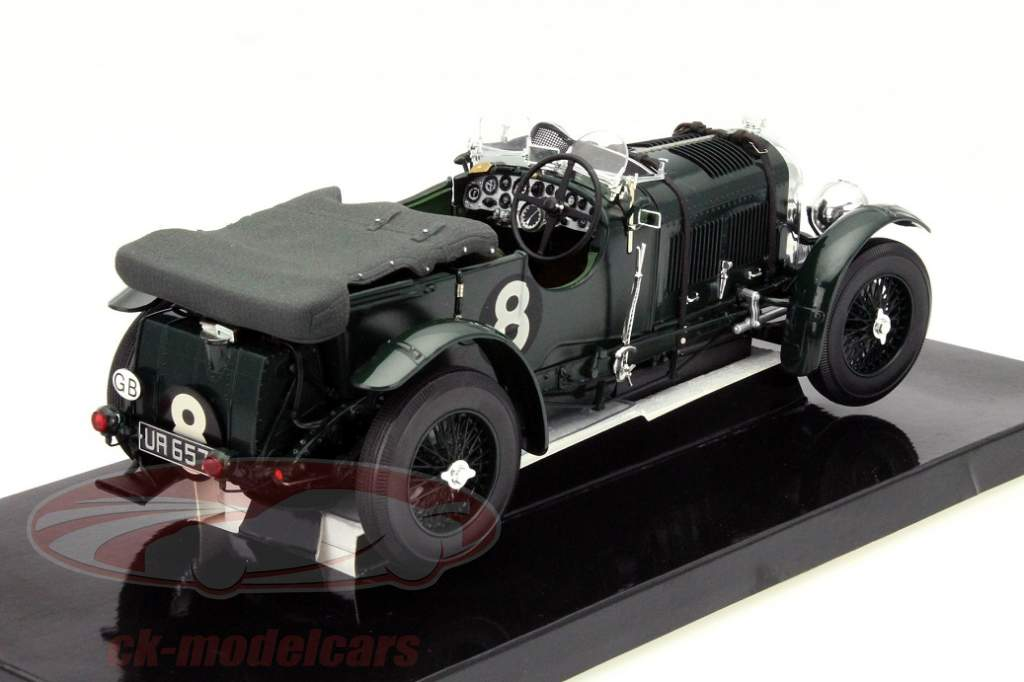 Bentley 4 ½ Litre Supercharged Blower Le Mans 1930 in 1:18