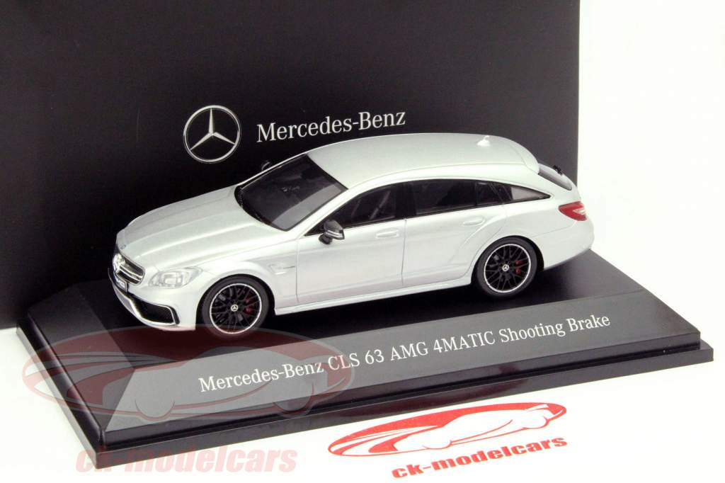 Mercedes Benz CLS 63 AMG 4Matic Shooting Brake Irídio Prata 1:43 Spark MB