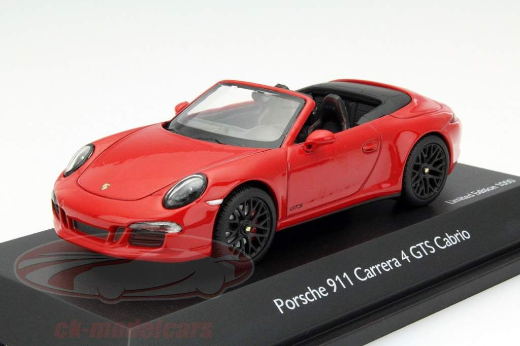 porsche 911 991 gts now as a model car in 1 43 scale. Black Bedroom Furniture Sets. Home Design Ideas