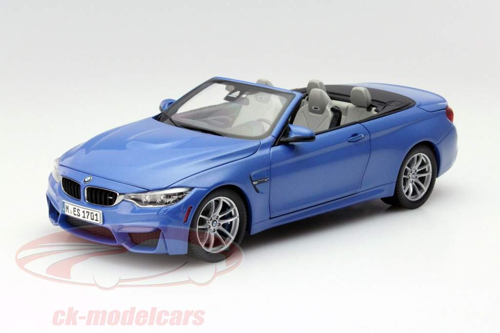 bmw m4 jetzt als cabriolet in 1 18 sonne f r die vitrine. Black Bedroom Furniture Sets. Home Design Ideas