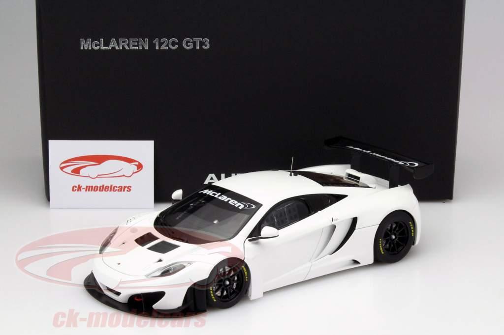 CK-Modelcars - 81341: McLaren MP4-12C GT3 built in 2011 white 1:18 ...