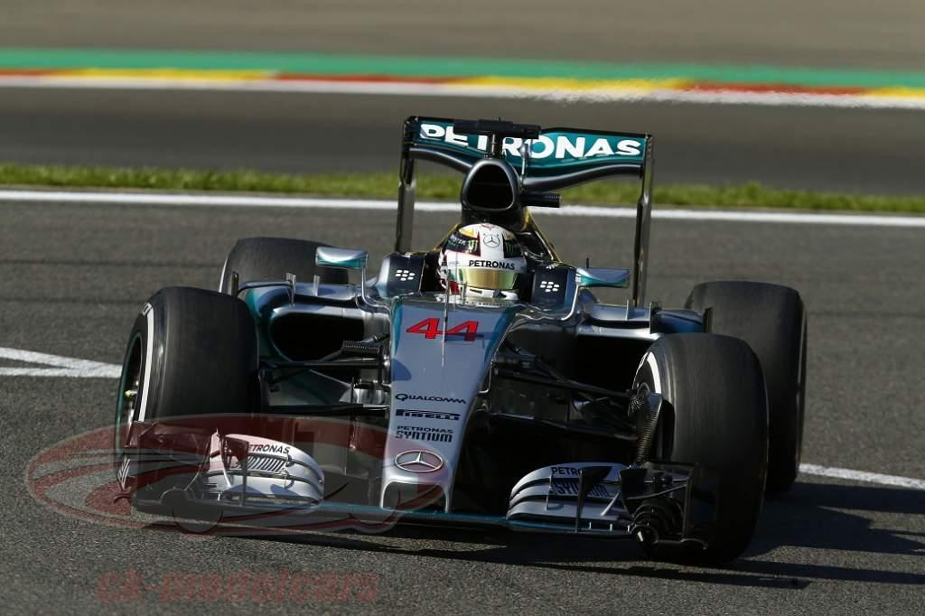Formel 1 Grand Prix Von Monza 2015 Modelle Des W06 In Sicht