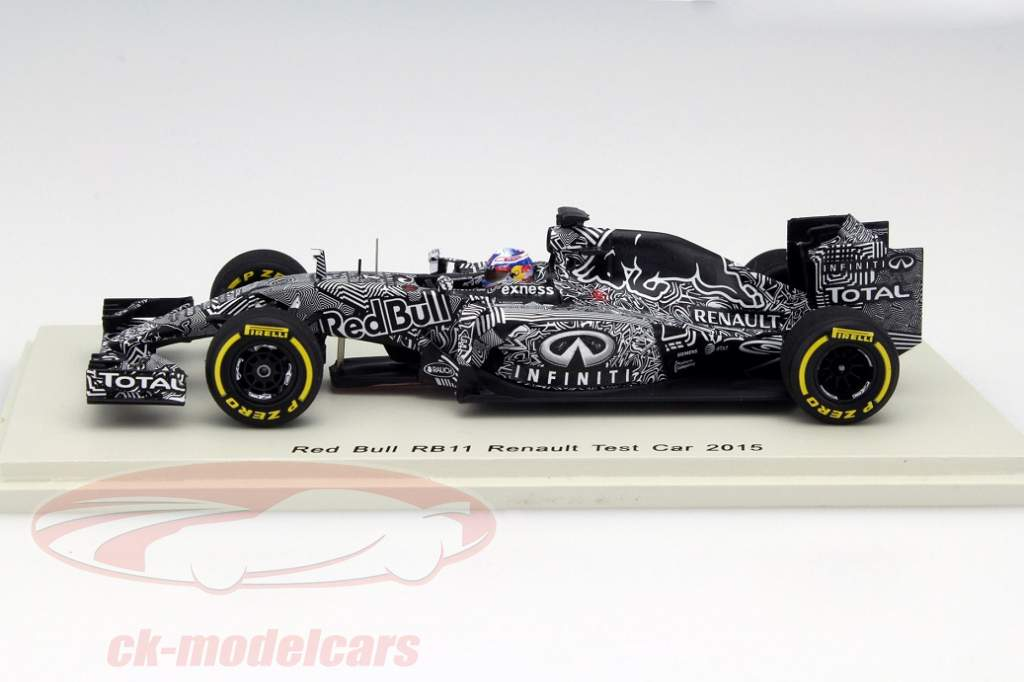 formel 1 modelle von spark test car daniel ricciardo in 1 43. Black Bedroom Furniture Sets. Home Design Ideas