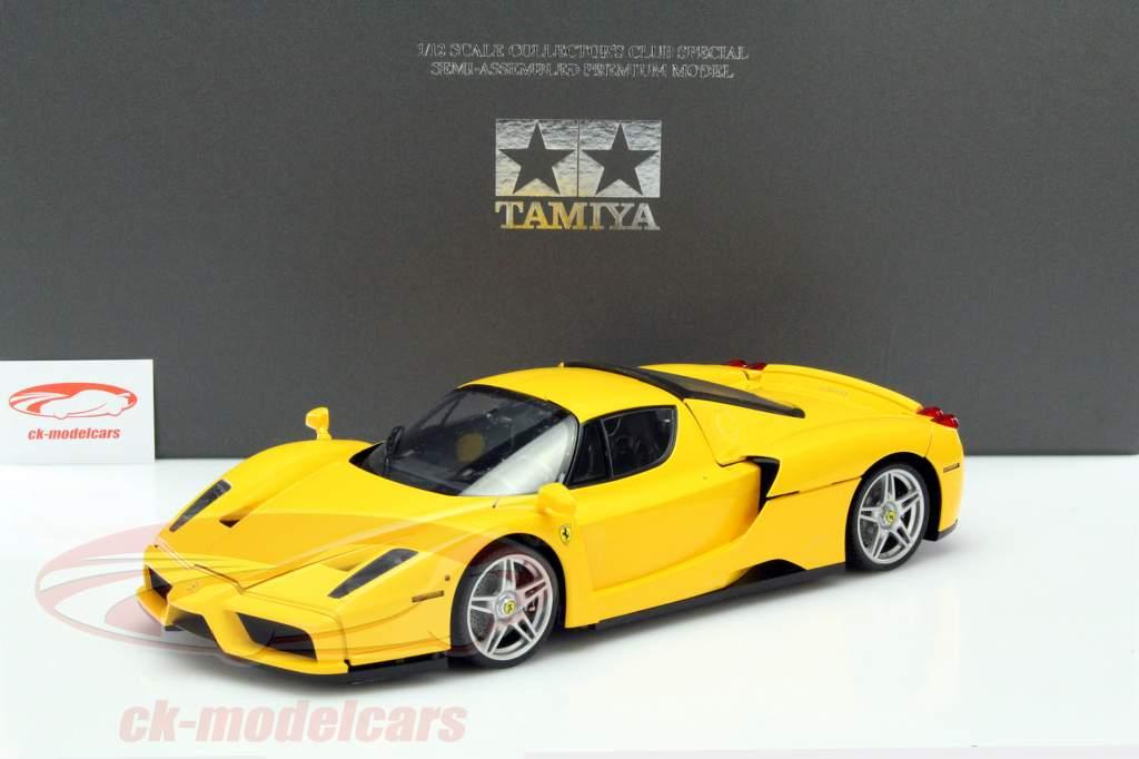 Ferrari Enzo yellow 1:12 Tamiya