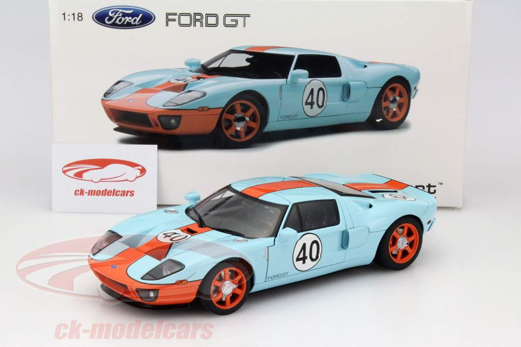 Ford Gt  Gulf Livery Year   Autoart